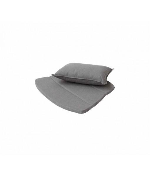 Breeze lounge chair, cushion set Taupe