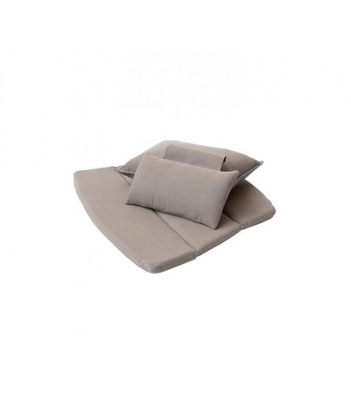 Breeze highback chair, cushion set Taupe, ...
