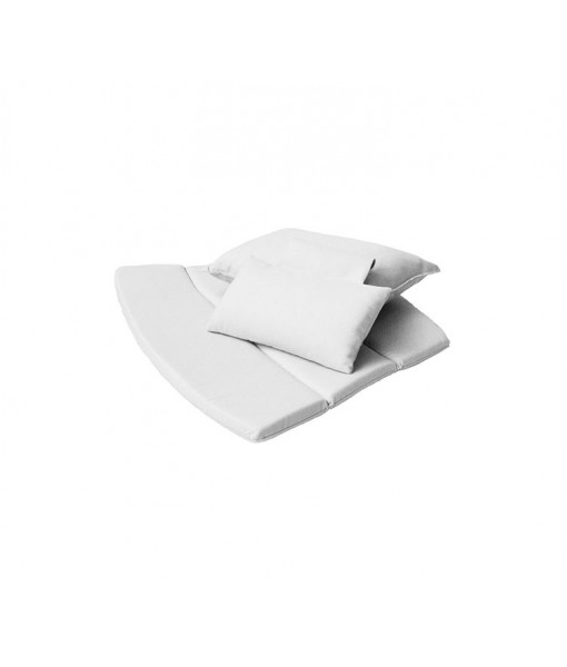 Breeze highback chair, cushion set White