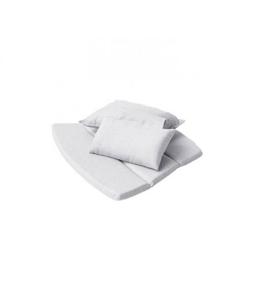 Breeze highback chair, cushion set Light ...