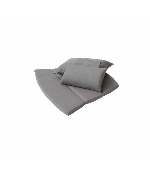 Breeze highback chair, cushion set Taupe