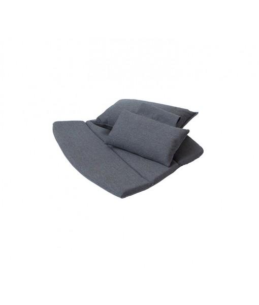 Breeze highback chair, cushion set Black