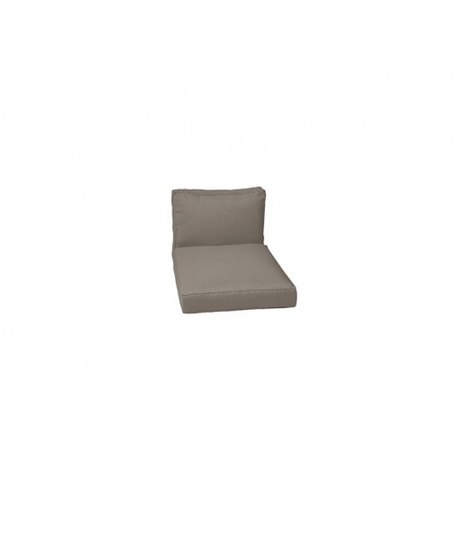 Chester lounge chair, cushion set Taupe