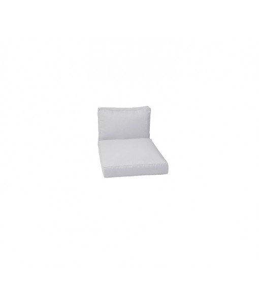 Chester lounge chair, cushion set White