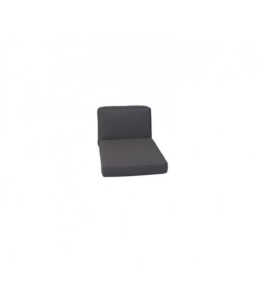 Chester lounge chair, cushion set Black