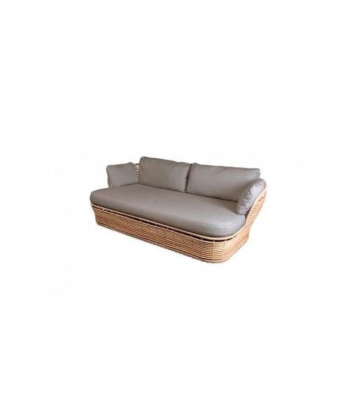Basket 2-seater sofa