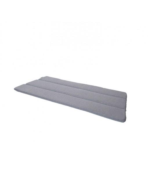 Breeze 2-seater lounge sofa, cushion Grey
