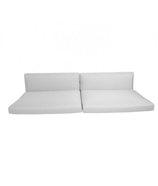 Connect 3-seater sofa, cushion set White