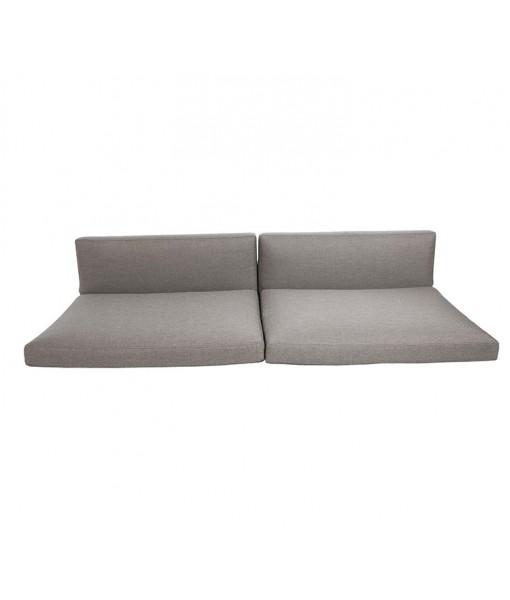 Connect 3-seater sofa, cushion set Taupe