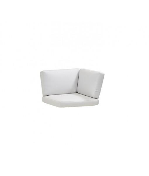Connect corner module, cushion set White