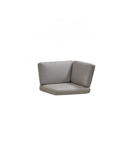 Connect corner module, cushion set Taupe