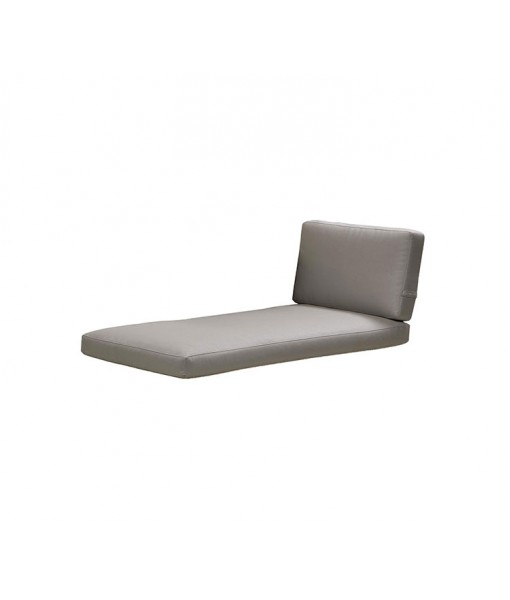 Connect chaiselounge, cushion set Taupe
