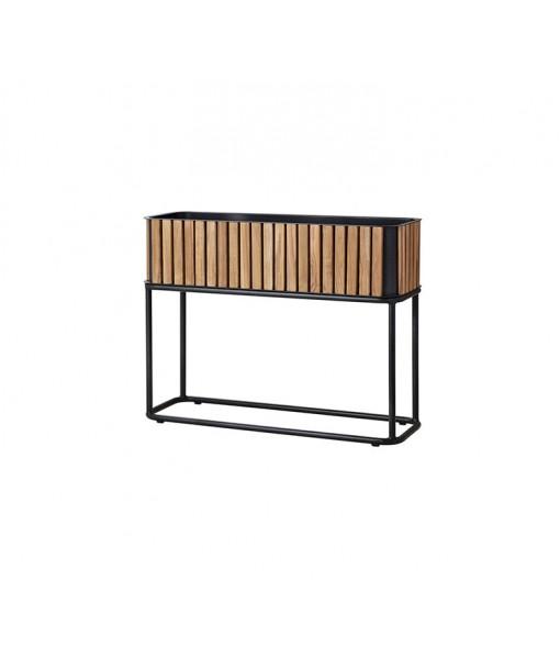 Combine planter, rectangular