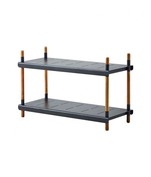 Frame shelving system, low