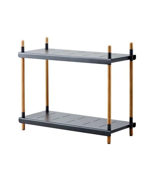 Frame shelving system, high