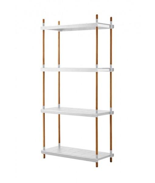 Frame shelving system, complete base unit ...