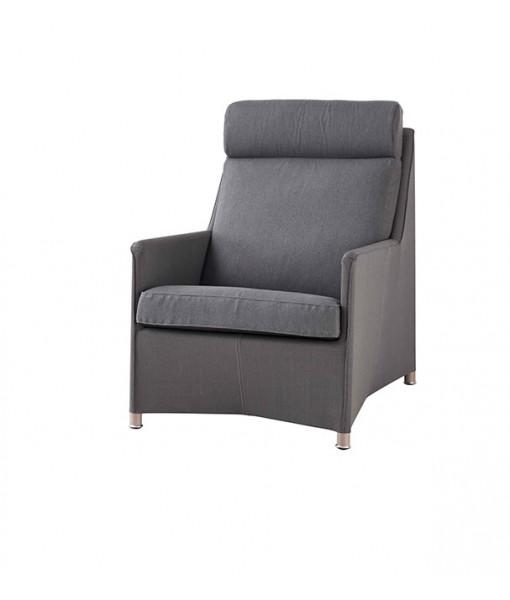 Diamond highback chair