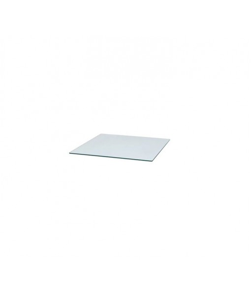 Chester footstool, Safety Glass, Clear