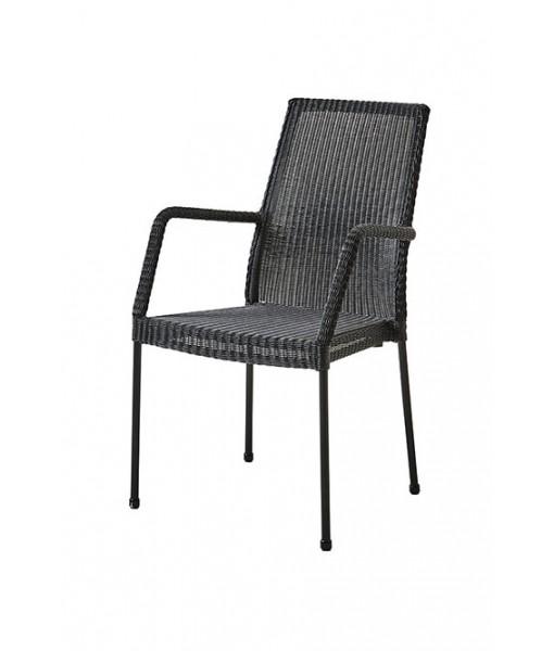 Newport armchair, stackable