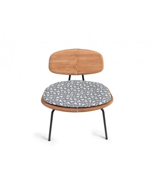 AGAVE Shaped Cushion Lounge Chair