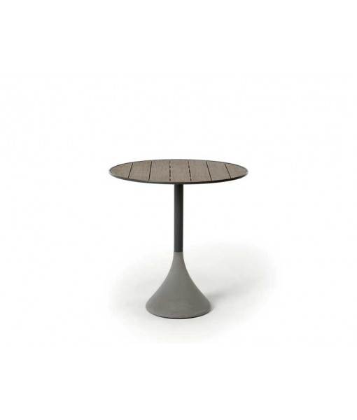 CONCRETO Round Table Ø70 H 74