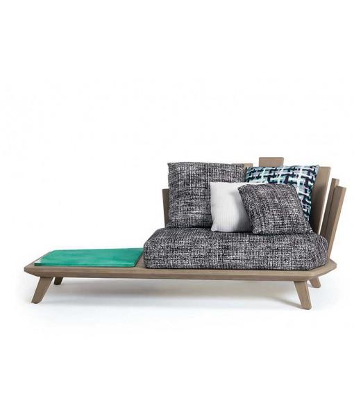 RAFAEL Lounge Armchair with Coffee Table