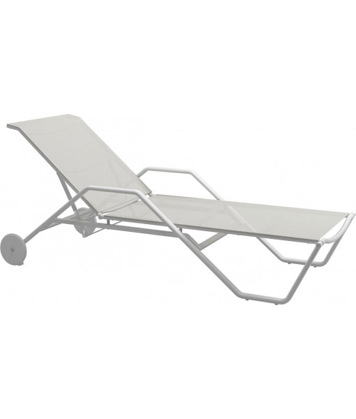 180 Stacking Lounger With Arms