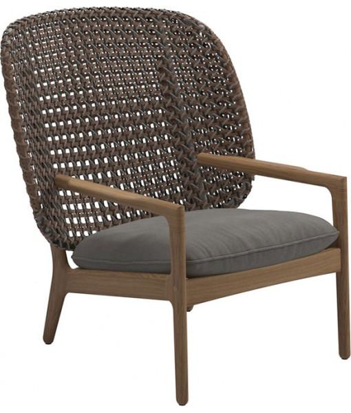 KAY High-back Lounge Chair