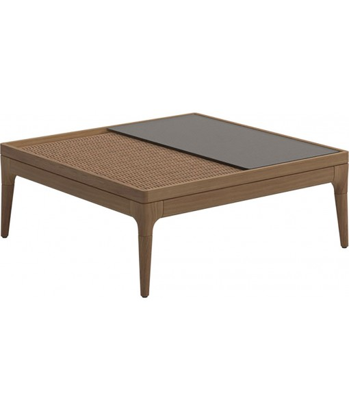 LIMA Coffee Table with Glass Top