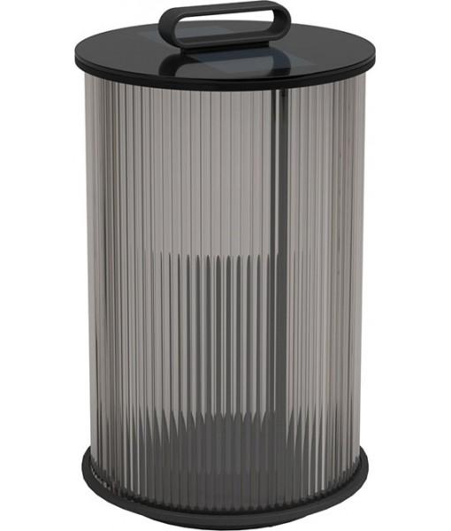 AMBIENT Line Tall Glass Lantern