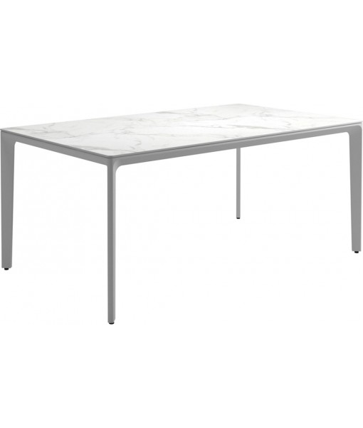"""CARVER Dining Table 67""""L White / ..."""