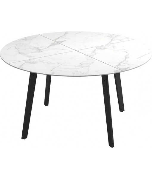 """CARVER Dining Table 55""""DIA Meteor / ..."""