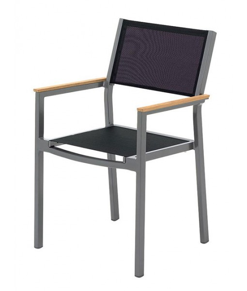 LUNA Stacking Chair With Arms