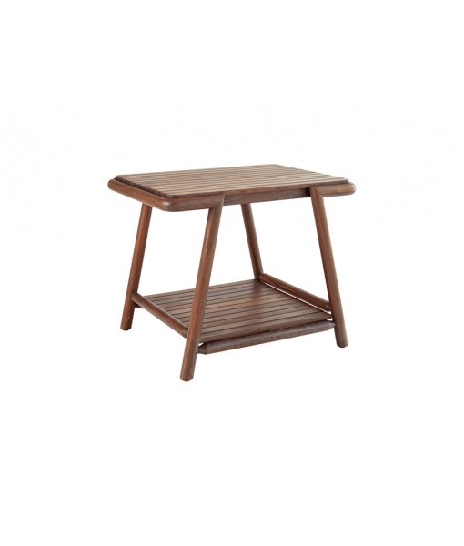 FORTE 28″ Rectangular Side Table with ...