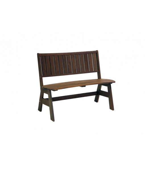 Classic Ipe Jade Curved Bench