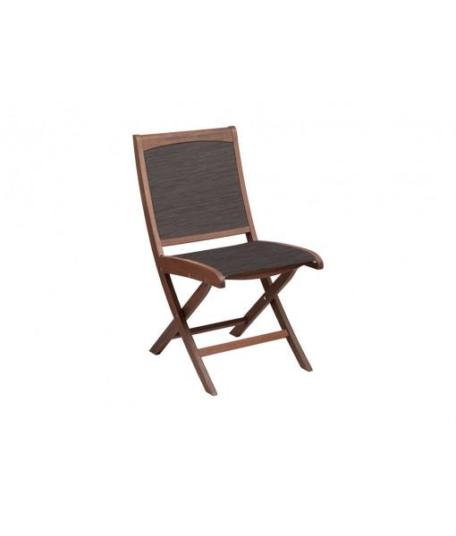 Topaz Folding Sling Side Chair | ...