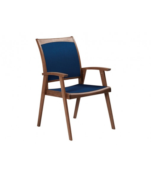 TOPAZ Sling Arm Chair | Blue