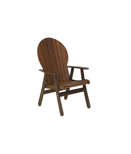 CLASSIC IPE Fanback Chair