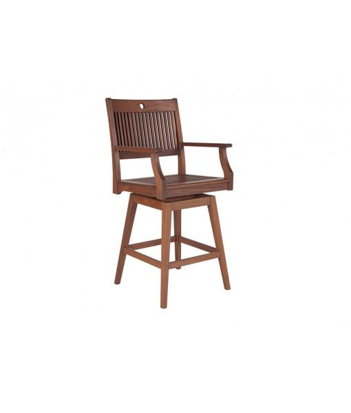 OPAL Swivel Hi Dining Arm Chair
