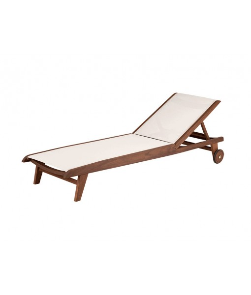 TOPAZ Sling Chaise Lounge | Blue