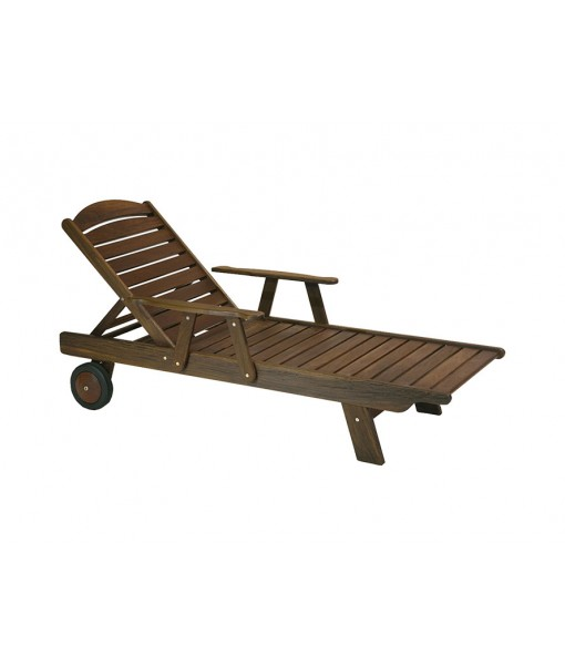 Classic Ipe Chaise Lounge