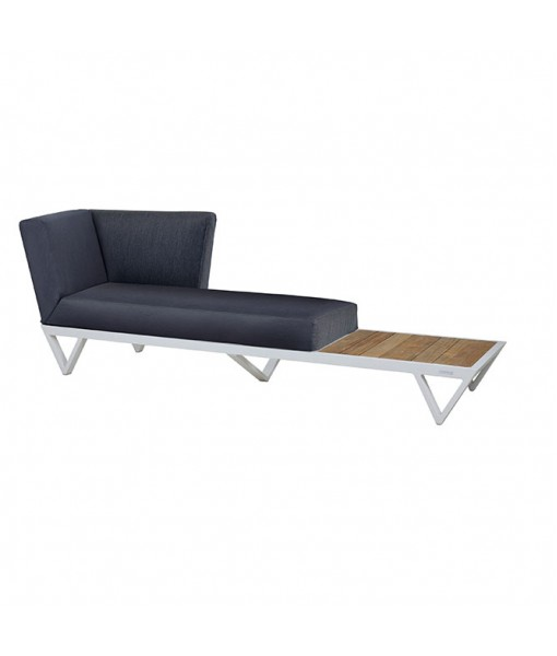 BONDI BELLE sofa chaise with table ...