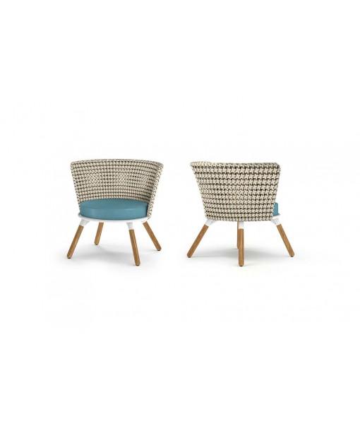 DAISY MAE Chat Chair (Teak Legs)