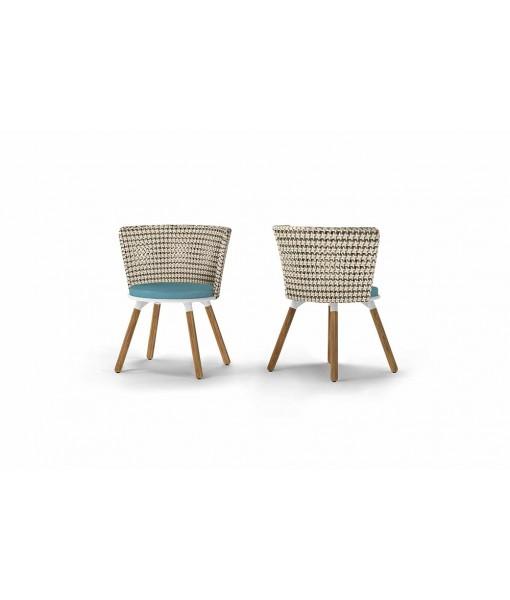 DAISY MAE Dining Chair (Teak Legs)