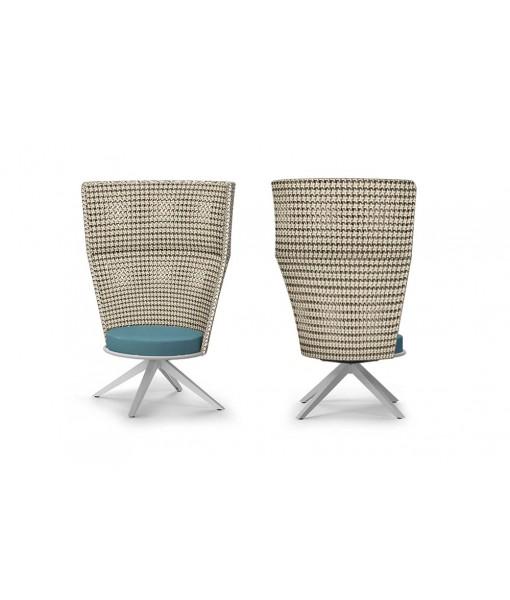 DAISY MAE Swivel Lounge Chair High-back