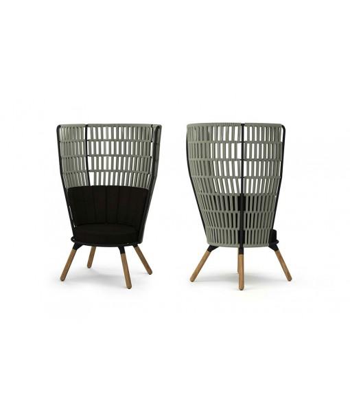 DAISY RAE Chat Chair High-back (Teak ...