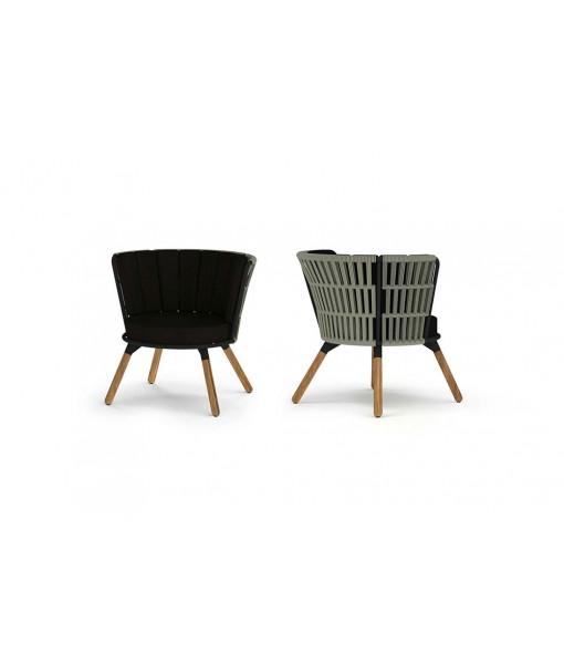 DAISY RAE Chat Chair (Teak Legs)