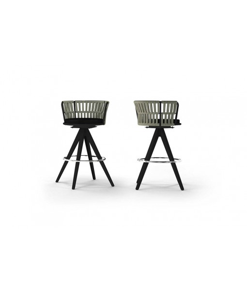 DAISY RAE Swivel Bar Chair