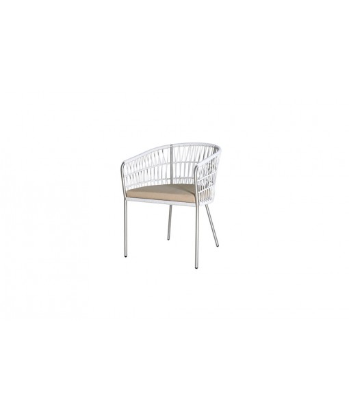 BONO dining chair (stainless steel)