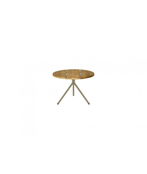 BONO low table (aluminum/teak)